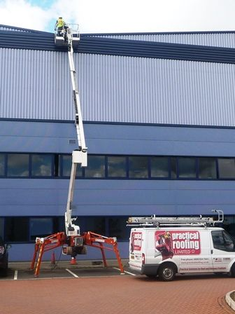 High Level Access Equipment by Surrey Roof Company